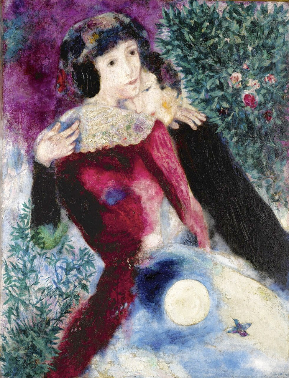 Marc Chagall The lovers