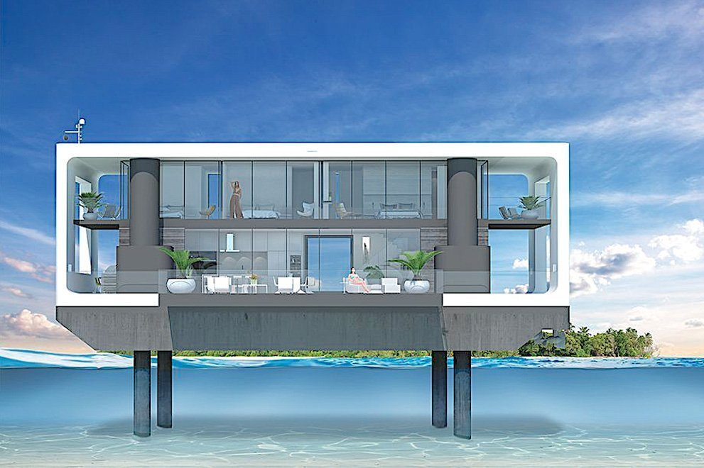 Floating Homes in Miami