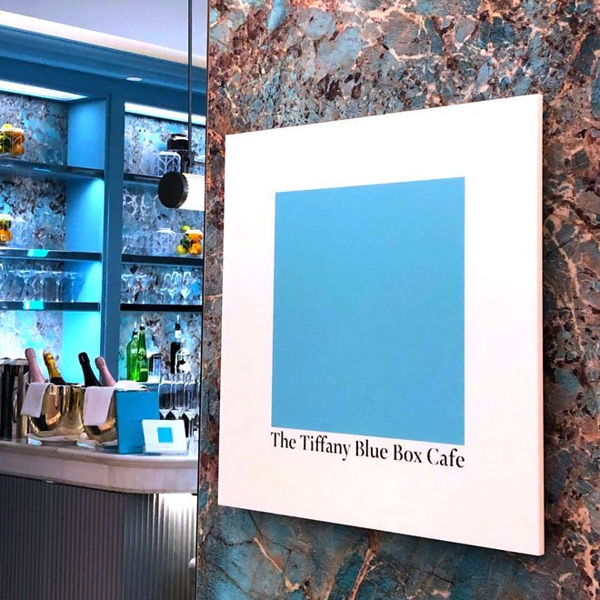 Tiffany Blue Box Cafe Harrods